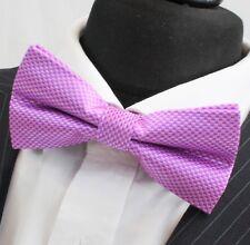 Corbata De Moño. Rosa cheque. Calidad Premium. PN09 pre-atado.