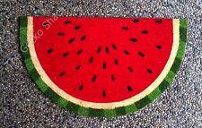 WELCOME Watermelon Coir Fibre Front Door Mat Entry Deck Patio Fruit Fun