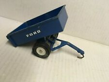 ERTL Ford Blue Diecast Metal Trailer Made in USA