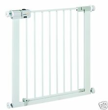 Barrera para Puerta de Seguridad Bebes Niños Safety 1st Easy Close Metal Blanco