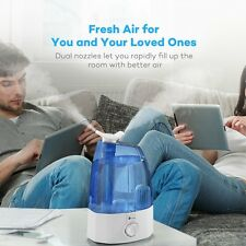 Electric Cool Mist Air Humidifier Ultrasonic 3.5L Rotatable Nozzles Health Fresh