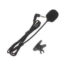 3.5mm Mono Plug Clip on Lavalier Lapel Mic Microphone for Amplifier- EW