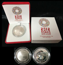 JAPAN 1000 YEN 2012 HALOGRAM SILVER COIN IMF WORLD BANK ANNUAL MEETING