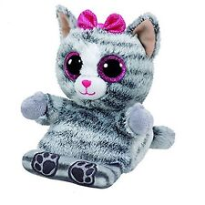 Ty Peek-A-Boo Phone Holder with Screen Cleaner Bottom Molly Grey Cat (New )