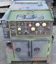 Military Mep 802a 5kw Portable Skid Diesel Generator 60hz Single Amp 3 Phase Power