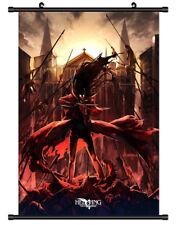 4744 Alucard Hellsing Decor Poster Wall Scroll cosplay