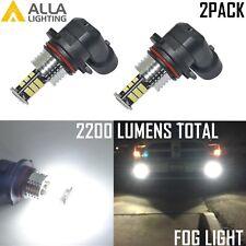 Alla Lighting 2x 6000K 9006 HB4 Super White 3020 SMD LED Fog Driving Light Bulbs