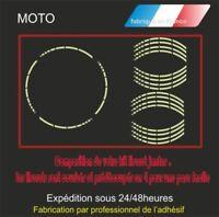 liserets jantes motos - autocollants Stickers adhésifs