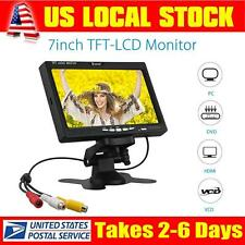 "EYOYO S720 1024*600 Camera PC DVD 7"" LCD TFT Clolor Monitor Display VGA AV HDMI"