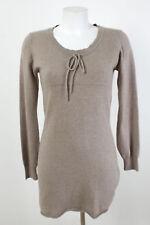 CLOSED Kleid Gr. S Wolle-Kaschmir Strickkleid Pullikleid Stretchkleid