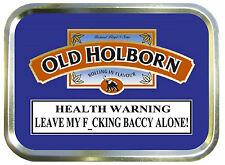 Old Holborn  2oz Gold Tobacco Tin, Stash Can, Storage Tin, Smokers, Empty Tin