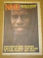 NME 1982 NOV 20 EDDY GRANT BLACK FLAG TEARS FOR FEARS