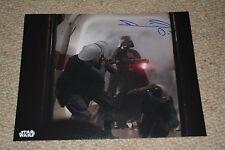 Daniel naprous signed autógrafo en persona 20x25 cm Star Wars Rogue one Vader