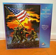 """""""A Moment to Remember"""" SunsOut 500 Piece PUZZLE 18x24 Steven Michael Gardner"""