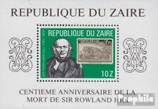 zaïre zaïrois Bloc 32 (complète edition) neuf avec gomme originale 1980 rowland