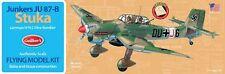 Model Airplane Kit, Guillow's WW II German Ju 87-B Stuka Dive Bomber  GUI-508