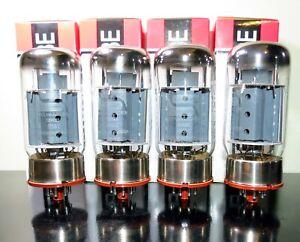 PLATINUM Matched Quad (4) Svetlana 6550C tubes - Russia