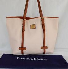 Dooney & Bourke Large Pebble Leather Pale Pink Shopper Tote Bag