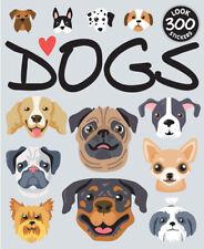 Sticker Books 15 Sheets 300pcs Design Dogs S26D04