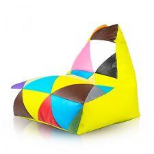 Sitzsack Sitzkissen Sitzsäcke Bodenkissen Beanbag Sessel Kunstleder Keiko S Mix