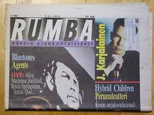 Finnish RUMBA Magazine 7 / 1996 : RAGE AGAINST THE MACHINE Cover