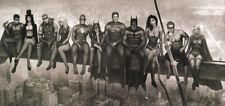 Nathan Szerdy SIGNED DC Comics JLA Art Print ~ Wonder Woman Batman Zatanna Flash