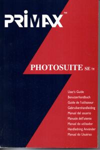 Primax Photosuite SE TM Benutzerhandbuch Manual