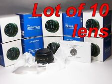 Zenitar-M2s MC 2/50mm M42-Mount Brand new in BOX - Lot of 10 lens