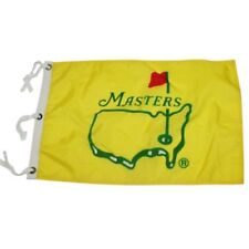 1995 Masters--Augusta National official pin flag--Crenshaw winner, Tiger's first
