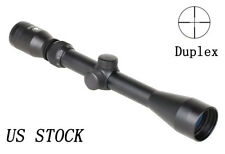 Tactical 3-9x40mm Rifle Scope Illuminated Duplex Optical No Red Dot laser sight