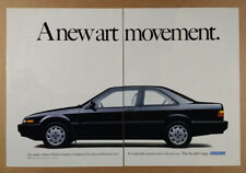 1989 Honda Accord Coupe vintage print Ad