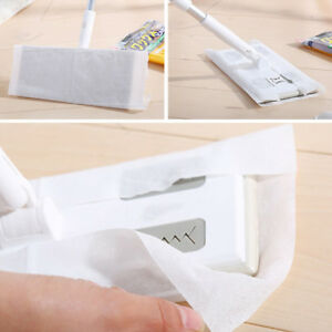 Super Wood Tile Laminate Floor Cleaner Static Cleaning Mop with Wet or Dry Wipes