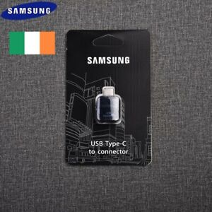 Samsung USB 3.1 TYPE C OTG Data Adapter For Galaxy S8 S9 Plus Note 8 9 A8...