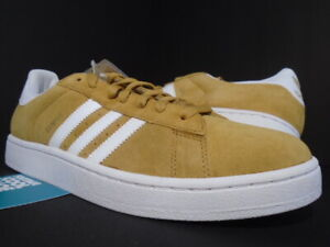 2011 ADIDAS CAMPUS II 2 WHEAT BROWN YELLOW WHITE METALLIC GOLD G22967 NEW 12