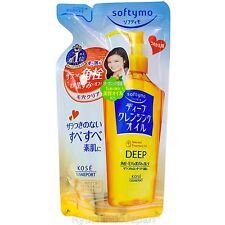 KOSE Softymo Deep Cleansing Oil Refill [Makeup Remover] Dry Hand Use