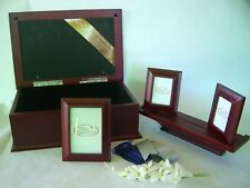 Five Piece Photo Storage Wooden Box Set Things Remembered