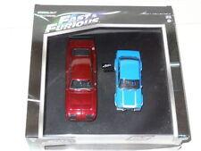Véhicules miniatures bleus pour Dodge