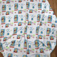 Disney Winnie The Pooh Half Flat Toddler Bed Top Sheet Dundee Bees & Honey AN
