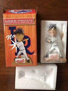 Rare Mike Trout Bobblehead Doll Arkansas Travelers Minor League Box Complete