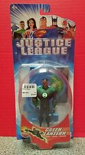 """Justice League Green Lantern 4.5"""" Action Figure With Stand DC Comics 2002 Mattel"""