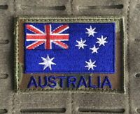 Australia, Australian Flag, ANF, Army, ADF, Auscam, Military, Patch.