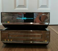 Mirrored Panasonic DVD CD player SF-DT100 and SL-DT100 AV Control Receiver