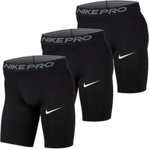 Nike Mens Pro Long Shorts Slim Compression Stretch Tight Fit Shorts Underwear