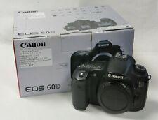 Canon EOS 60D DSLR   Canon digital camera Canon DSLR Boxed