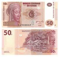 Pick 97a Kongo / Congo 50 Francs 2007  Unc. / 524581vvv