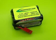 (2) 1000mAh FLUKE NETWORKS FLK FT500 FIBER INSPECTOR BATTERIES NFM120
