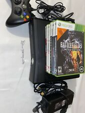 Microsoft Xbox 360 S 4GB with 6 Games Bundle FREE SHIPPING