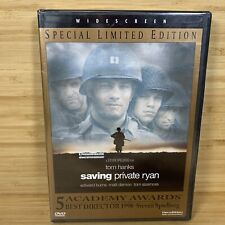 Saving Private Ryan (Special Limited EditionDvd 1999) New, Tom Hanks, Matt Damon