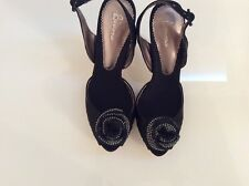 Beautiful New black Bourne prom high heel size 10 AUS in box