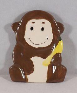 Greenbrier Ceramic Soap Dish Holder  - New - Monkey